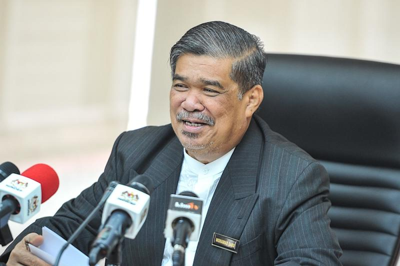 Defence Minister Mohamad Sabu speaks during a press conference at Wisma Pertahanan in Kuala Lumpur June 4, 2018. — Picture by Shafwan Zaidon