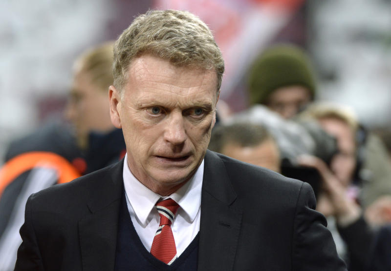 David Moyes (pictured) was the hand-picked successor of former United manager Alex Ferguson, who retired in 2013 after more than 26 years in charge at Old Trafford