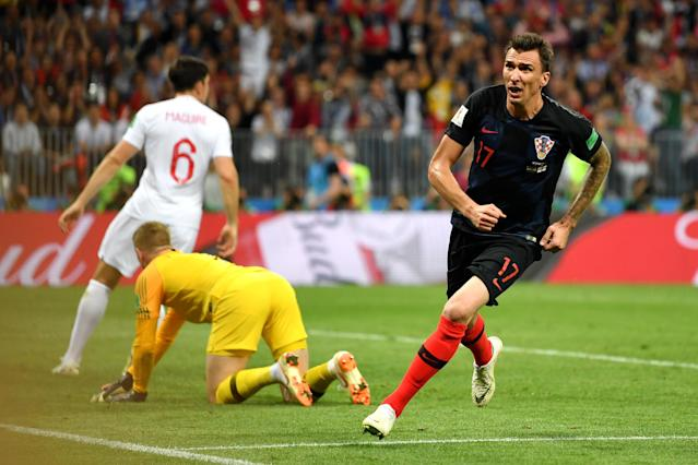 Mario Mandzukic and Croatia made a surprise run to the final at the 2018 World Cup. (Getty)