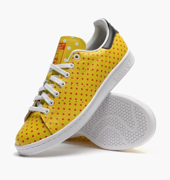 Pharrell Williams and adidas Originals put polka dots on Stan Smith sneakers