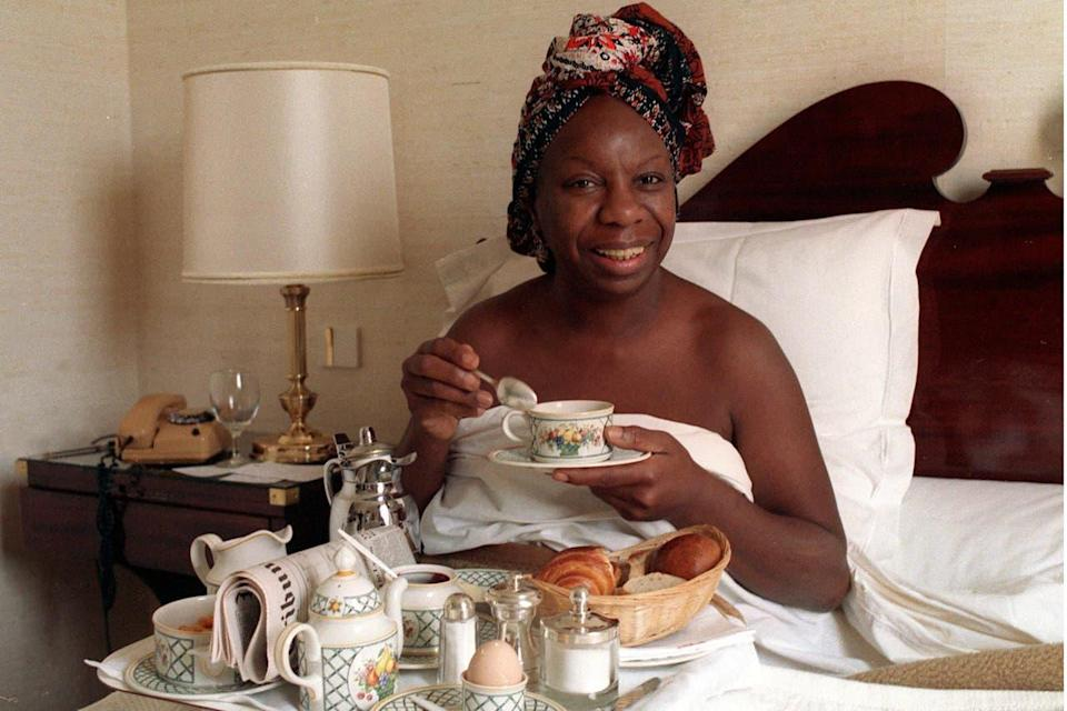 Nina Simone lived her last years in France