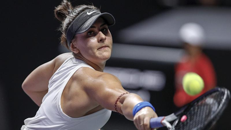 Andreescu Out For Rest of Season