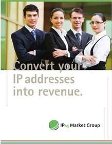 """IPv4 Market Group Announces New """"Lease to Own"""" Opportunity for IPv4 Sellers"""