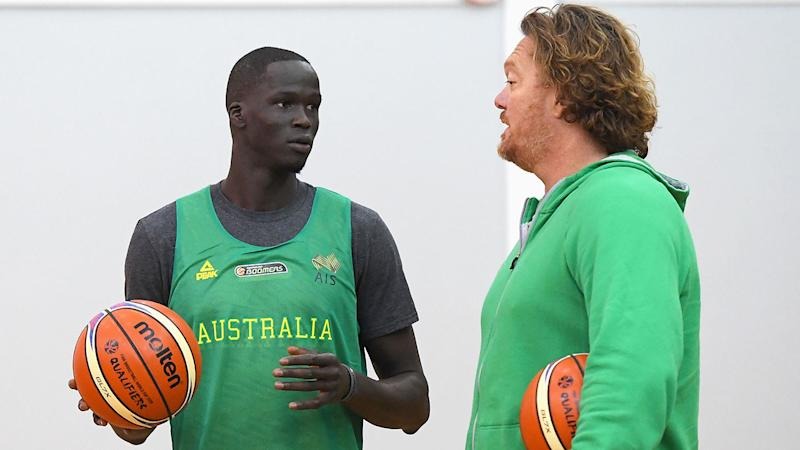 Thon Maker has pulled out of Australia's World Cup squad.