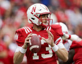 <p>Trending down: Tanner Lee, Nebraska — The Tulane transfer has looked good at camps over the summer. But he's stepping into a less-than-ideal situation in the Husker offense. Nebraska's top two rushers from a year ago are gone as is leading receiver Jordan Westerkamp. A full season of WR De'Mornay Pierson-El should help Lee immensely, but Nebraska doesn't look like a contender in the Big Ten West. (Photo credit: AP) </p>