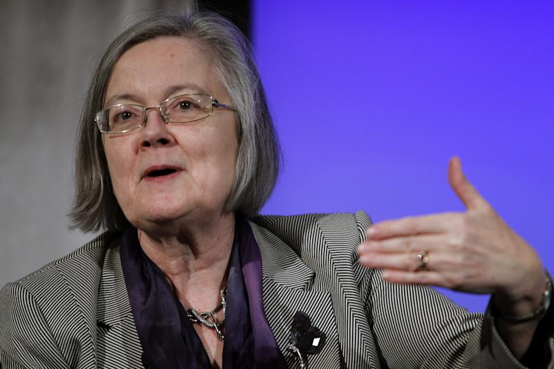 Lady Hale of the Supreme Court of the UK. (AP Photo/Jose Luis Magana)