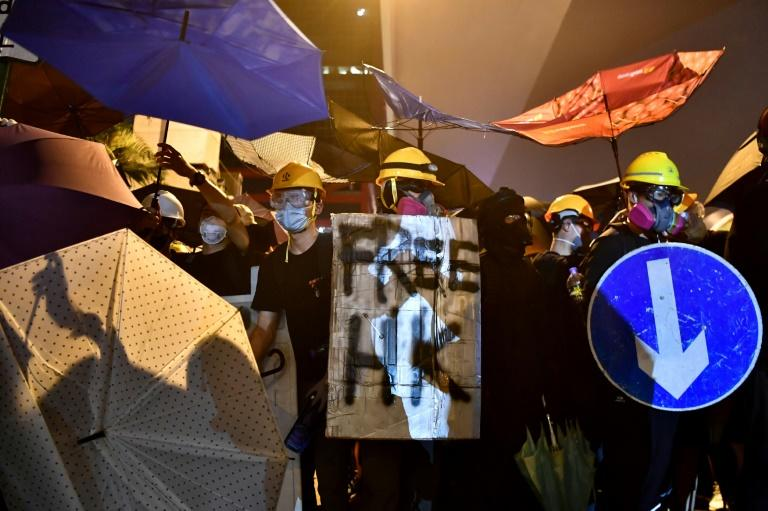 Hong Kong has been rocked by six weeks of political violence (AFP Photo/Anthony WALLACE)