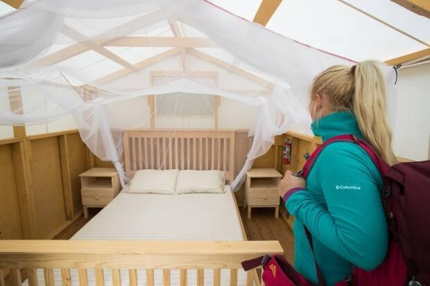McPherson says visitors will stay in 'a rather glamping style back-country accommodation.'
