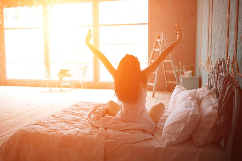 Aim to get up with the sun. Photo: Getty