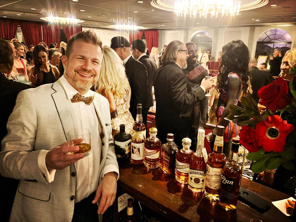 Pre-COVID Whiskey and Bourbon Tasting hosted by Bourbon expert, Tom Fischer