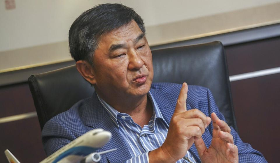 Property tycoon Bill Wong told the Post that talk of Shenzhen overshadowing Hong Kong has been overblown. Photo: K. Y. Cheng