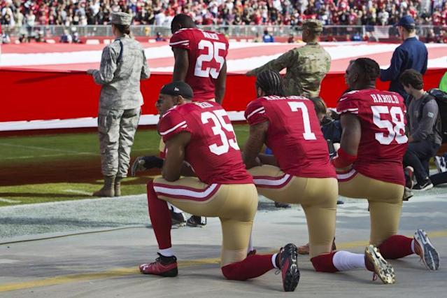 Taking a knee: Why are NFL players protesting and when did they start to kneel?
