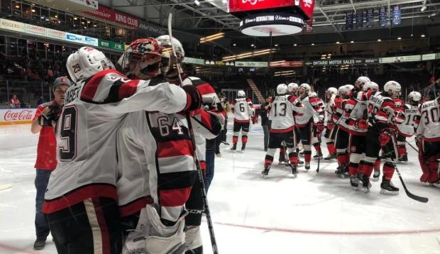 Ottawa 67's eye OHL record with 3rd playoff sweep