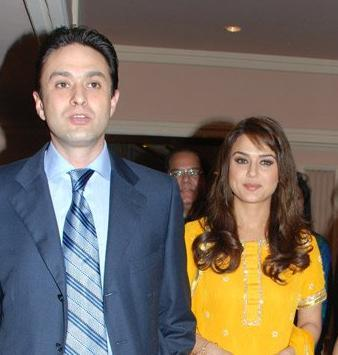 """<p>Theirs was a fairytale relationship – she a top heroine and he one of the top businessmen in the country. After many public appearances together, they even took their relationship to another level when they became business partners and co-owners of the IPL team Kings XI Punjab. However, Ness's mother Maureen Wadia was not impressed with her son's choice. She is reported to have said, """"I don't care even in Ness gets married to a zebra."""" There were also reports of Ness physically abusing Preity, and slapping her at a party.<br /><br />The duo broke up soon after, but continued to remain business partners. However, things turned ugly when in January 2014, Preity filed a police complaint against Ness accusing him of molestation, threat and abuse. She complained that Ness had molested her outside Wankhede stadium and that after her breakup, Ness continued to repeatedly abuse and threaten her of dire consequences.<br /><br />Ness reacted stating that the allegations were false and baseless and that he was shocked that Preity would stoop to such levels. The duo, however, continues to remain co-owners of Kings XI and were even seen celebrating the team's win together at this year's IPL. Preity is currently married to her American partner, Gene Goodenough.<br /><br />By IndiaFM – Ness Wadia & girlfriend Preity Zinta at the Giants Day Awards, CC BY 3.0, https://commons.wikimedia.org/w/index.php?curid=3873906 </p>"""