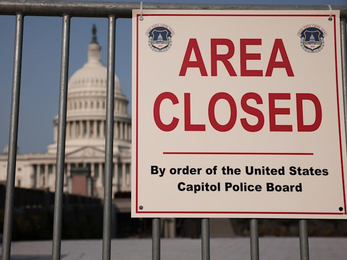 The US Capitol is prepared for another right-wing protest  (Getty Images)