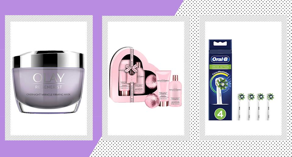 Boots' £10 Tuesday sale is here with huge discounts on Olay, Baylis & Harding, Oral B and many more brands.  (Boots/ Yahoo Style UK)