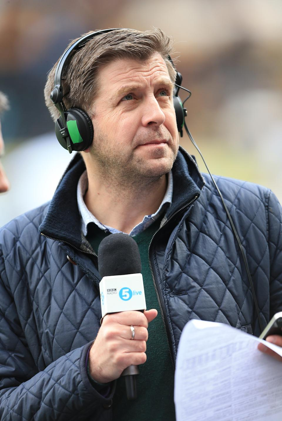 Radio 5 Live presenter Mark Chapman   (Photo by Mike Egerton/PA Images via Getty Images)