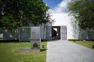 Entrance of the museum at Changi. Photo: Coconuts