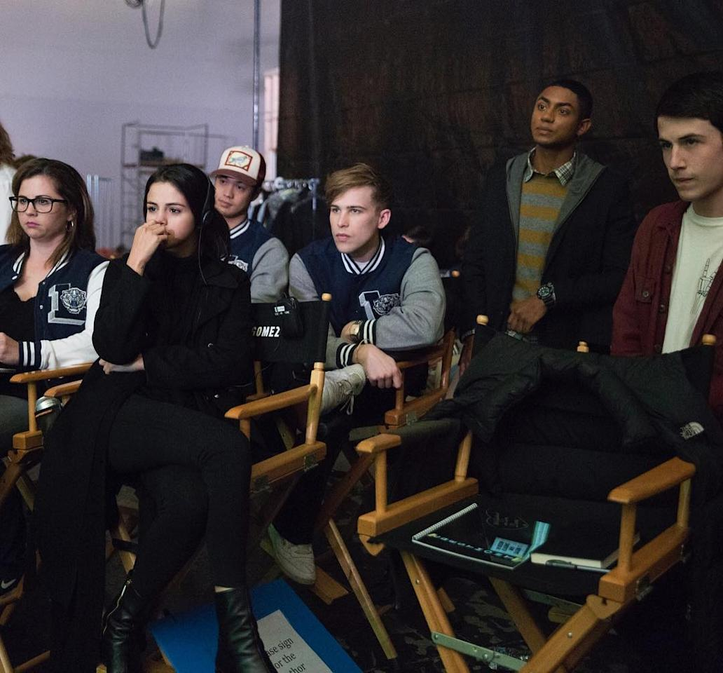 She co-produced <em>13 Reasons Why</em>, and she looks even better in a director's chair than she does onstage (or onscreen).