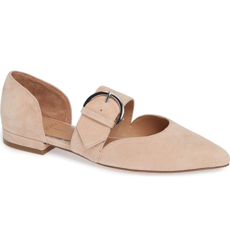 """<p>These comfy <a href=""""https://www.popsugar.com/buy/Linea%20Paolo%20Dean%20Pointy%20Toe%20Flats-354913?p_name=Linea%20Paolo%20Dean%20Pointy%20Toe%20Flats&retailer=shop.nordstrom.com&price=110&evar1=fab%3Aus&evar9=45128435&evar98=https%3A%2F%2Fwww.popsugar.com%2Ffashion%2Fphoto-gallery%2F45128435%2Fimage%2F45128513%2FLinea-Paolo-Dean-Pointy-Toe-Flats&list1=shopping%2Cfall%20fashion%2Cshoes%2Cfall%2Cbest%20of%2Cbest%20of%202018&prop13=mobile&pdata=1"""" rel=""""nofollow"""" data-shoppable-link=""""1"""" target=""""_blank"""" class=""""ga-track"""" data-ga-category=""""Related"""" data-ga-label=""""https://shop.nordstrom.com/s/linea-paolo-dean-pointy-toe-flat-women/4834907?origin=keywordsearch-personalizedsort&amp;color=purple%20suede"""" data-ga-action=""""In-Line Links"""">Linea Paolo Dean Pointy Toe Flats </a> ($110) come in so many colors.</p>"""