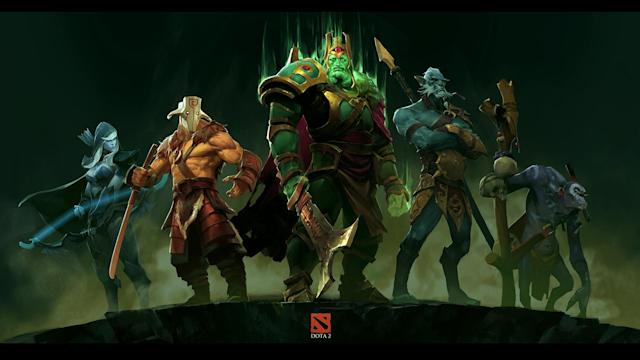 Dota 2 tops Steam's list of most played games for 2016 once again. (Valve)