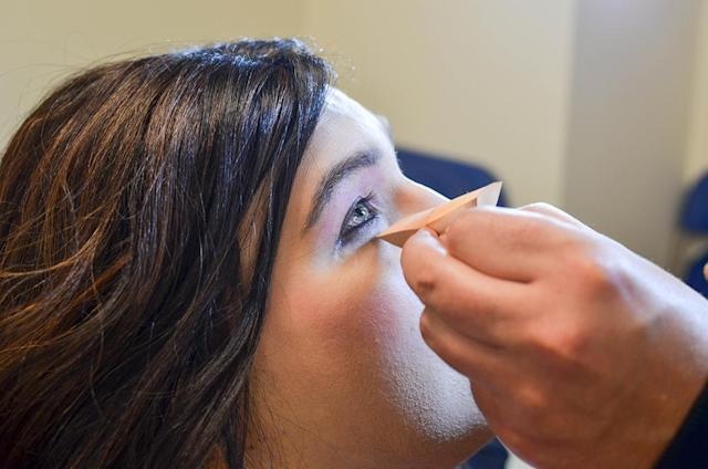 Makeup lessons that showcase natural beauty is key at the Trans Beauty Clinic. (Photo: Anne Kristoff for Yahoo Lifestyle)