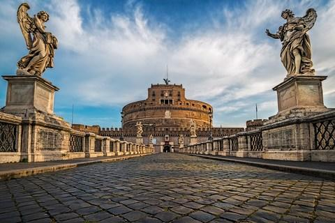 Journey's end: Castel Sant'Angelo - Credit: GETTY