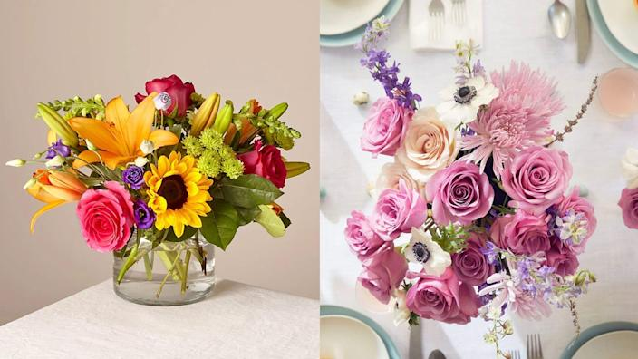 Get some gorgeous blooms.