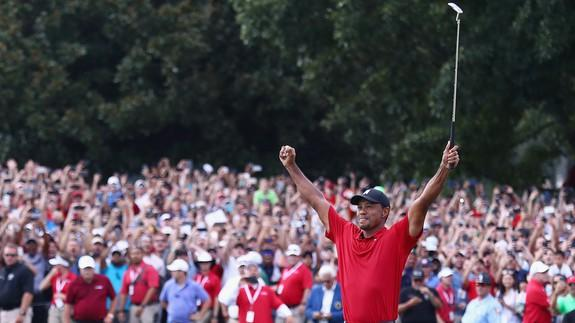 American fans hail their hero Tiger Woods once more after unlikely resurrection