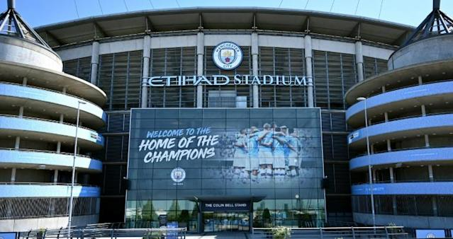 The verdict of Manchester City's appeal against a two-season ban from European football will be revealed in July (AFP Photo/Paul ELLIS)