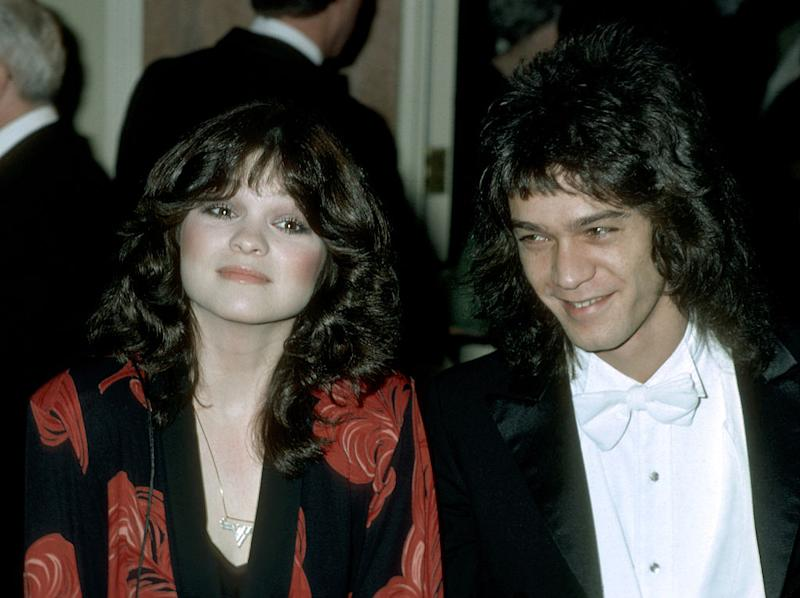 valerie bertinelli and eddie van halen 39 s wedding day was