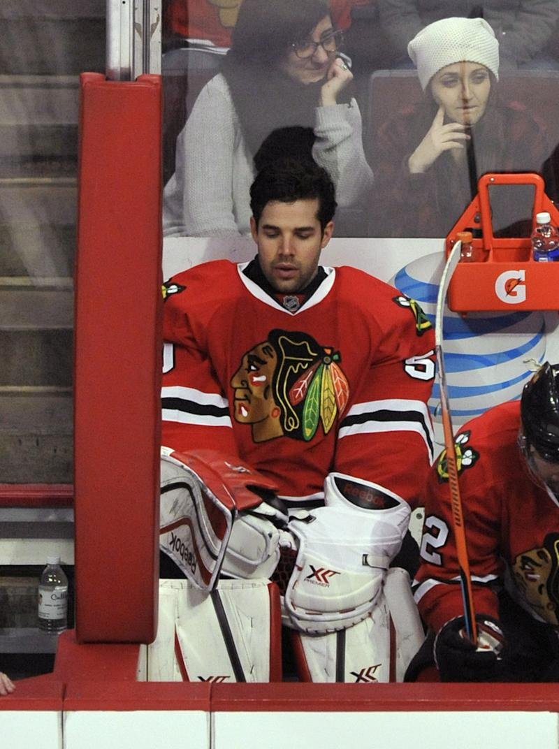 Blackhawks searching for answers heading into stretch run