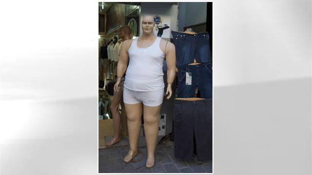 Plus-Sized Mannequin Offends Some
