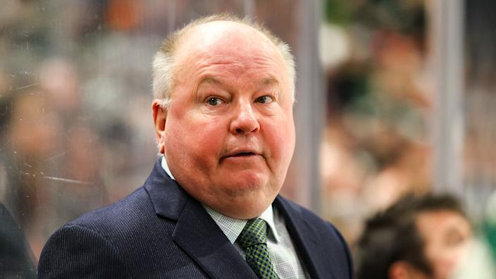 Is Bruce Boudreau a good fit for the Leafs' coaching staff? (Photo by David Berding/Icon Sportswire via Getty Images)