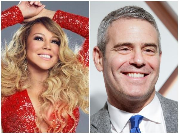 Mariah Carey, Andy Cohen (Image courtesy: Instagram)