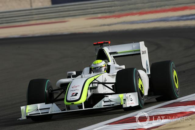 "2009: Jenson Button, Brawn GP BGP 001 <span class=""copyright"">Sutton Motorsport Images</span>"