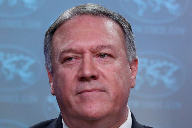 Pompeo tiptoes away from talk of 'imminent' attack planned by Iran's Soleimani