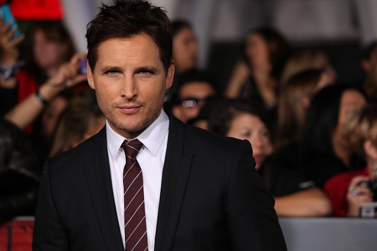 "Peter Facinelli arrives at ""The Twilight Saga: Breaking Dawn - Part 2"" Los Angeles premiere at the Nokia Theatre L.A. Live on November 12, 2012 in Los Angeles, California."