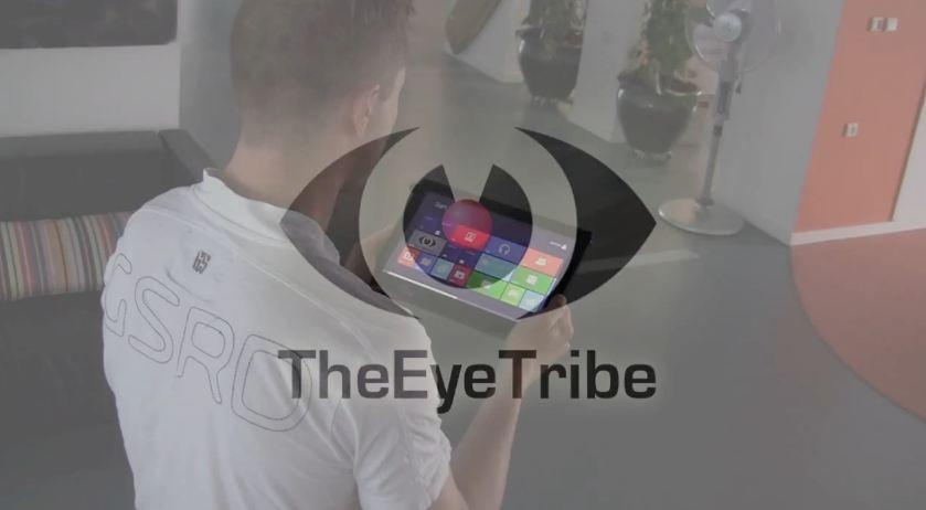7. The eyephone. Touchscreen could become a thing of the past thanks to Danish technology that allows smartphone and tablet users to control their devices by moving their eyes. Eye Tribe, which uses infrared light reflected from the pupil to the device's camera, are negotiating with manufacturers to release a visually-controlled phone next year.