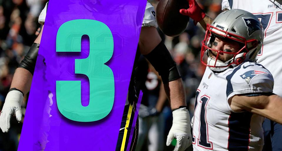 <p>To win on the road against a good Bears team without Rob Gronkowski, after Sony Michel got hurt, was a quality victory. The Patriots are clearly back to being the Patriots. (Julian Edelman) </p>