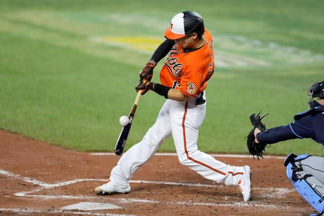 Orioles extend Rays' skid to 4 with 5-4 win in 11 innings