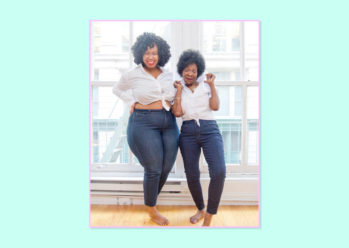 """<p><strong><a rel=""""nofollow"""" href=""""http://www.kellyaugustine.com"""">Kelly Augustine</a></strong><br />I'm a diehard NYDJ girl, through and through. I got my first pair of their Amy cut last year and they've become my go-to for figure hugging, well-fitting denim for my hourglass frame. NYDJ denim is insanely soft, ridiculously soft. With my curvy, bottom-heavy figure, I am always left with a gap in my waist; I don't have that issue with NYDJ. The length is perfect, and they have just enough stretch to hug my curves perfectly while providing support. Love, love, love them!<br /><br />Amy Skinny Legging In Sure Stretch, $144, <a rel=""""nofollow"""" href=""""http://www.nydj.com/ami-skinny-legging-in-sure-stretch-denim-in-plus/d/4143C10999?CategoryId=2999"""">NYDJ</a> </p>"""