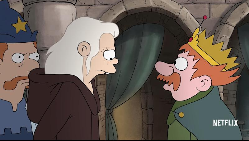 Fans of The Simpsons and Futurama should feel at home with Disenchantment