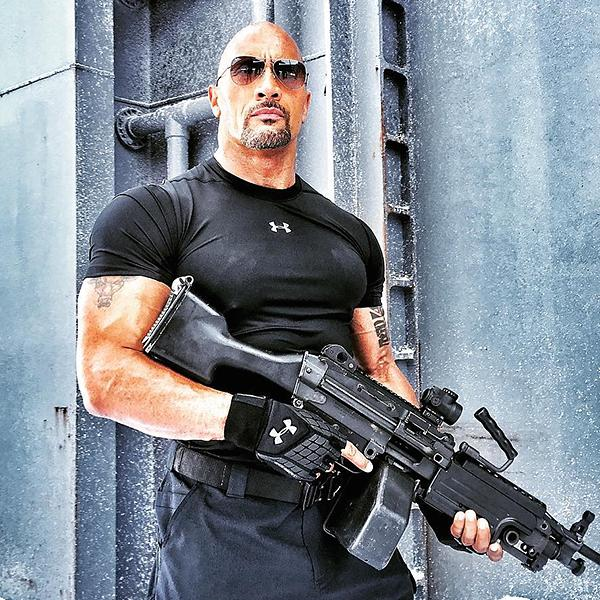 Dwayne Johnson in 'Fast 8'