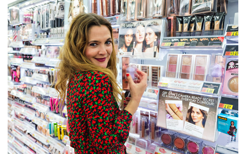 <p>Drew Barrymore is the perfect example of the power of the celebrity-endorsed beauty line. The Hollywood name first launched FLOWER Beauty in Walmart back in 2017. Now, the collection is up for grabs here in the UK thanks to Superdrug cashing in on the line. <em>[Photo: Getty]</em> </p>