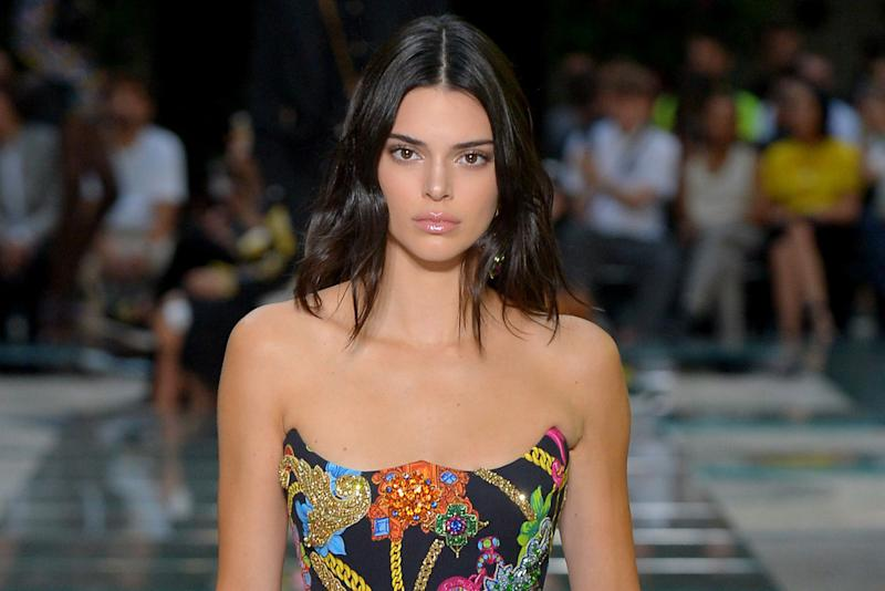 Kendall Jenner returned to the podium