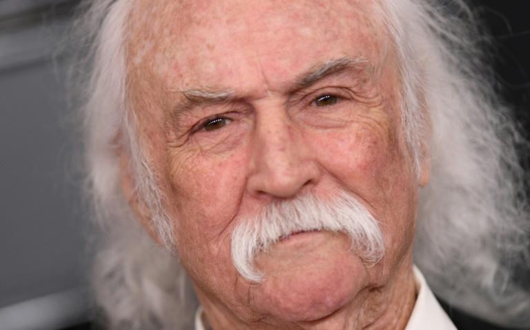 David Crosby, shown here at the Grammy ceremony in 2020, says he felt forced to sell publishing rights to his music in a year that's seen tours grounded