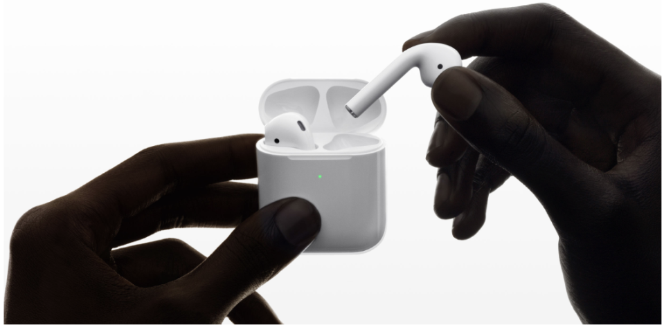 Save big on Apple AirPods (Photo: Apple)