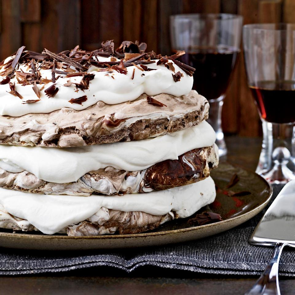 "<p>From an extraordinary hazelnut-and-chocolate meringue <a rel=""nofollow"" href=""http://www.foodandwine.com/slideshows/cakes"">cakes</a> to fudgy chocolate walnut <a rel=""nofollow"" href=""http://www.foodandwine.com/slideshows/cookies"">cookies</a>, here are superb Passover dessert recipes.</p>"