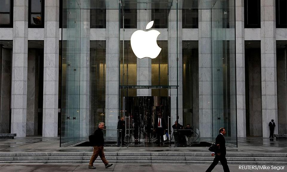 The Apple store on 5th Avenue in Manhattan, New York